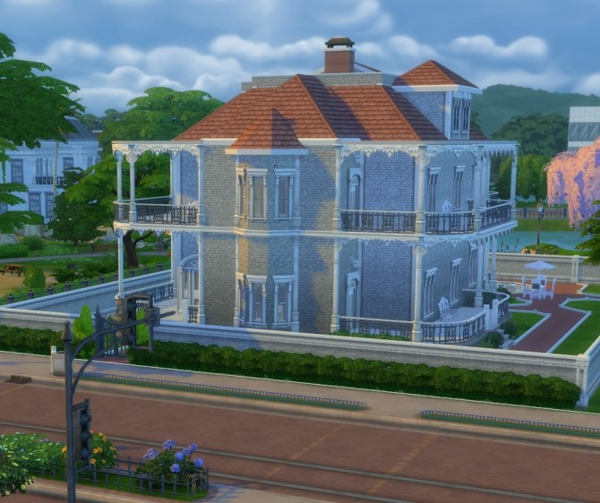Riverside Mansion Deep South Inspired Build by ericapoe at Mod The Sims image 6119 670x562 Sims 4 Updates