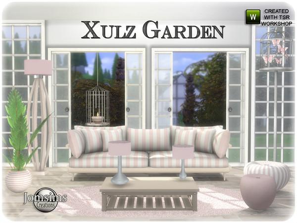 Sims 4 Xulz Garden set by jomsims at TSR