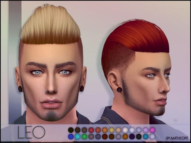Leo hair by Mathcope at Sims 4 Studio image 62 670x503 Sims 4 Updates