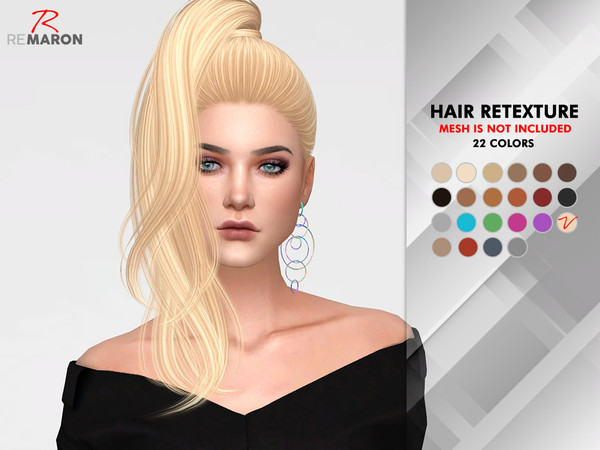 Divine Hair Retexture by remaron at TSR image 629 Sims 4 Updates