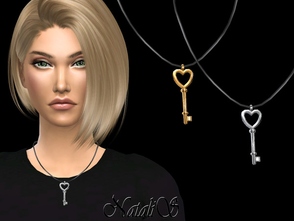 Key to my heart pendant by NataliS at TSR image 637 Sims 4 Updates