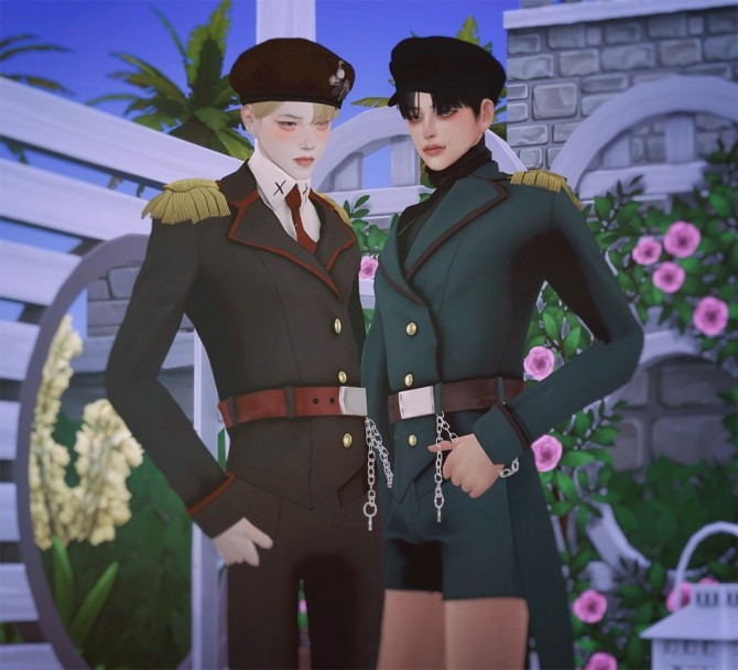 Felix Uniform Set at SHENDORI SIMS image 6416 670x608 Sims 4 Updates