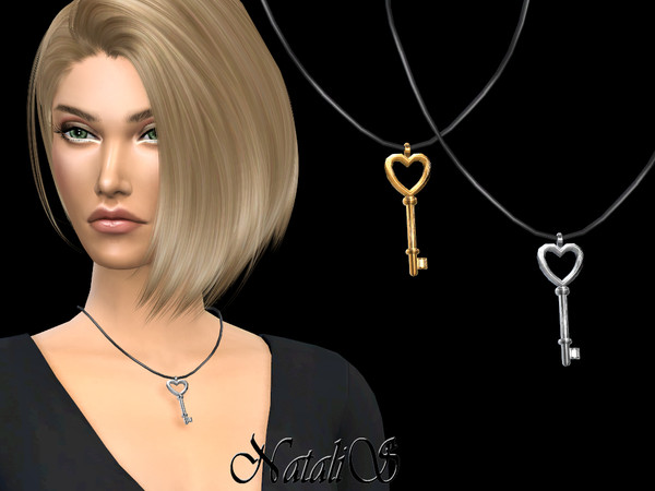 Key to my heart pendant by NataliS at TSR image 647 Sims 4 Updates