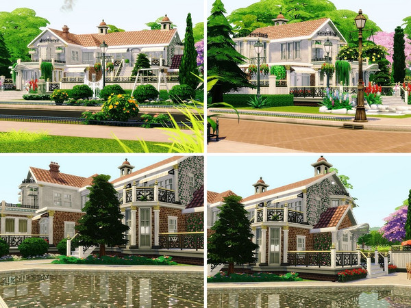 Selena house by MychQQQ at TSR image 650 Sims 4 Updates