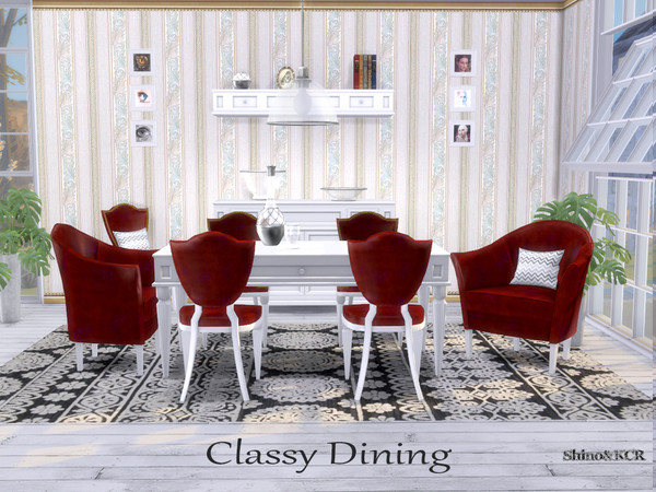 Dining Classy by ShinoKCR at TSR image 6612 Sims 4 Updates