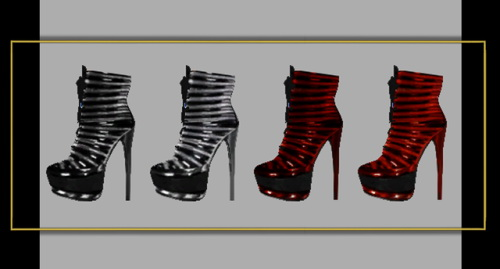 Sims 4 Heels at FusionStyle by Sviatlana