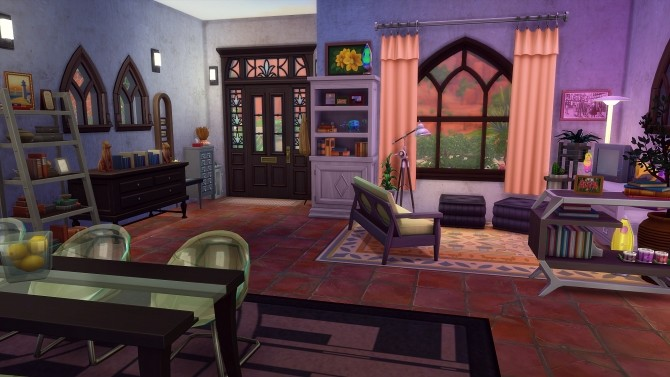 Sims 4 Stranger House by Angerouge at Studio Sims Creation