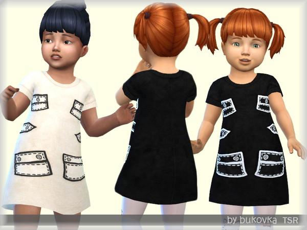 Sims 4 Dress Pockets by bukovka at TSR