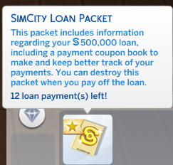SimCity Loans by scarletqueenkat at Mod The Sims image 728 Sims 4 Updates