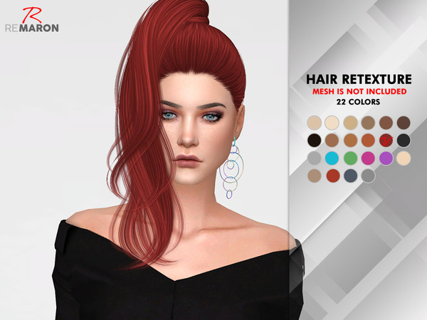 Divine Hair Retexture by remaron at TSR image 729 Sims 4 Updates