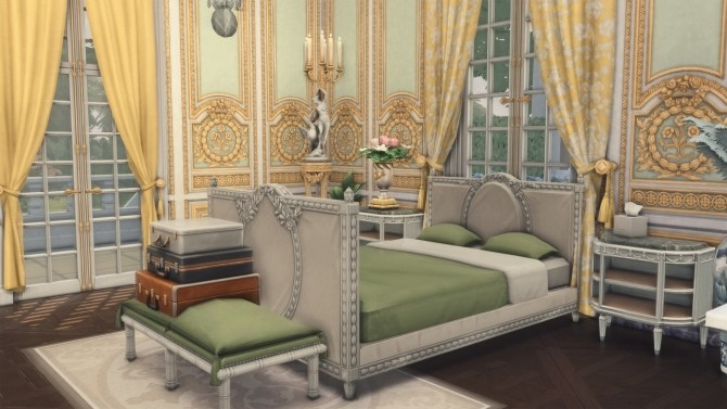 Sims 4 Château Bouffémont Hotel at Harrie