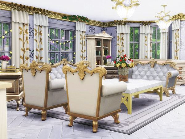 Selena house by MychQQQ at TSR image 760 Sims 4 Updates