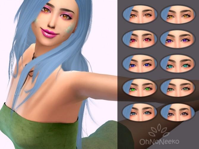 Sims 4 Odessey Eyes at OhNoNeeko