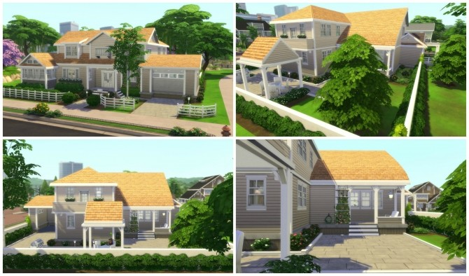 Returning to Wisteria Lane (Five Houses) by CarlDillynson at Mod The Sims image 807 670x394 Sims 4 Updates
