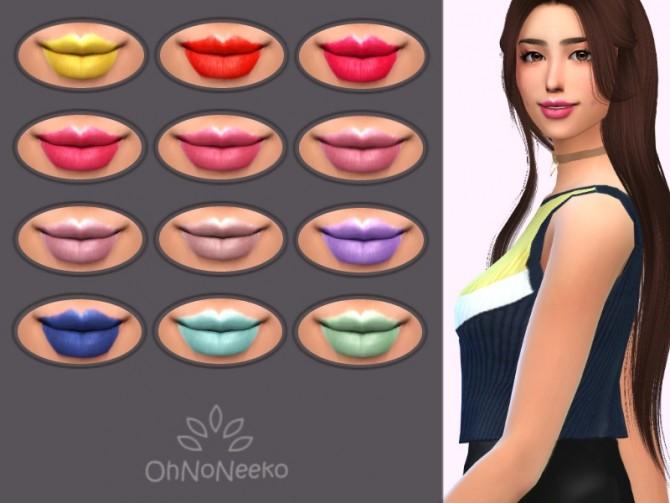 Sims 4 Yuna Lipstick at OhNoNeeko