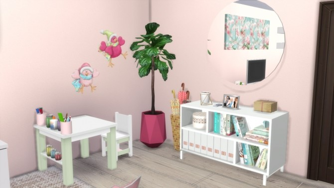Sims 4 SINGLE MOM APARTMENT RENOVATION at Dinha Gamer