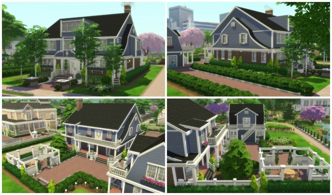 Returning to Wisteria Lane (Five Houses) by CarlDillynson at Mod The Sims image 826 670x394 Sims 4 Updates