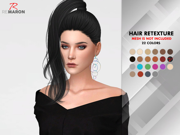 Divine Hair Retexture by remaron at TSR image 827 Sims 4 Updates