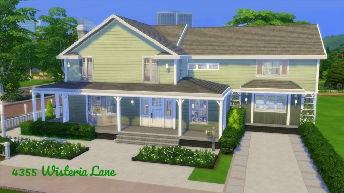 Returning to Wisteria Lane (Five Houses) by CarlDillynson at Mod The Sims image 835 670x377 Sims 4 Updates