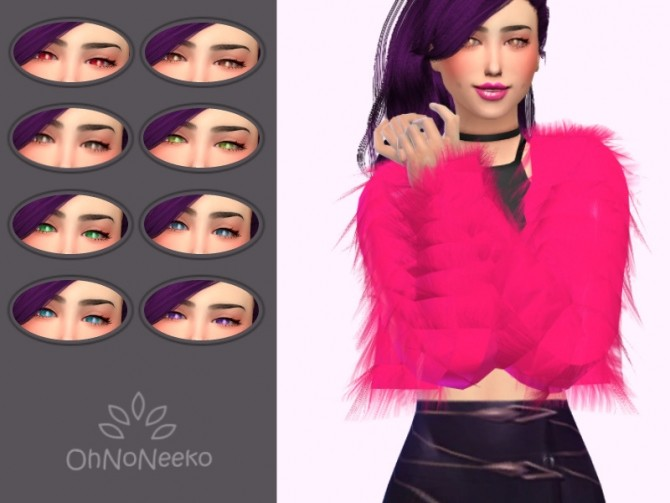 Sims 4 KDA Evelynn Eyes at OhNoNeeko