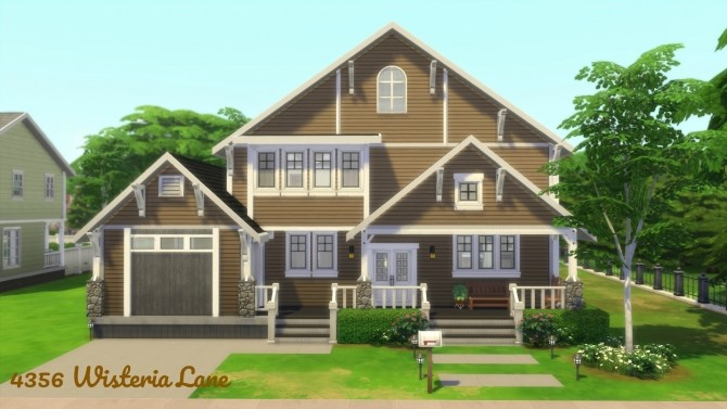Returning to Wisteria Lane (Five Houses) by CarlDillynson at Mod The Sims image 855 670x377 Sims 4 Updates