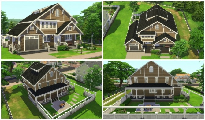 Returning to Wisteria Lane (Five Houses) by CarlDillynson at Mod The Sims image 865 670x394 Sims 4 Updates