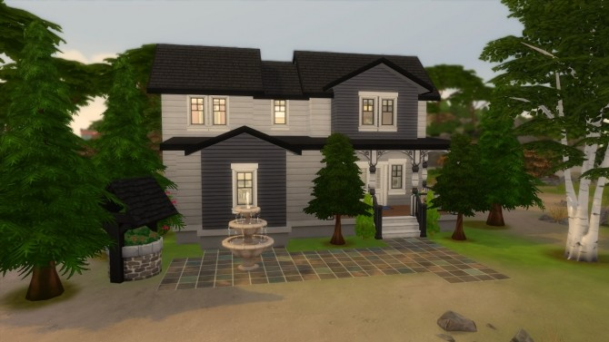 Sims 4 The decades challenge 1920s house by iSandor at Mod The Sims