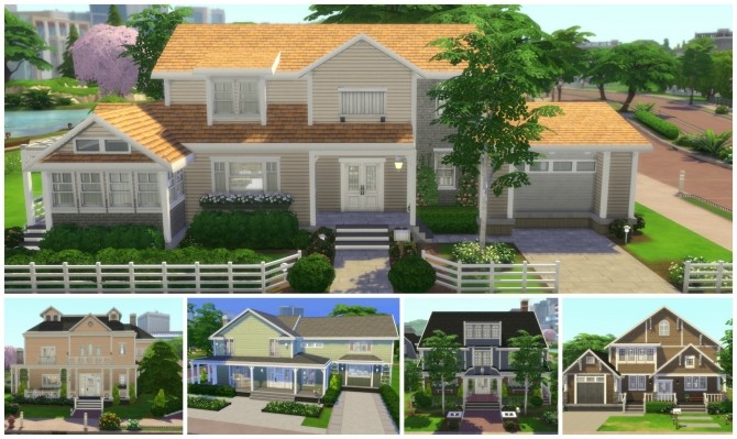 Returning to Wisteria Lane (Five Houses) by CarlDillynson at Mod The Sims image 875 670x399 Sims 4 Updates