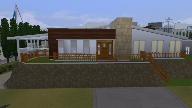 Contemporary Carlisle home by lolakret at Mod The Sims image 8810 670x377 Sims 4 Updates