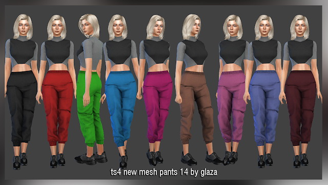 Sims 4 Pants 14 at All by Glaza