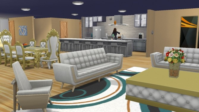 Contemporary Carlisle home by lolakret at Mod The Sims image 9010 670x377 Sims 4 Updates