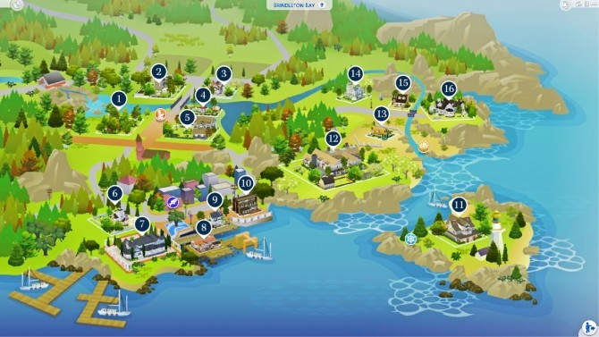 Sims 4 Brindelton Bae at Harrie