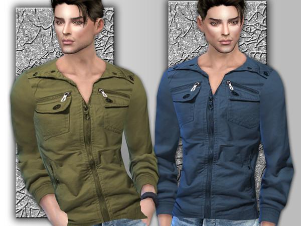 Sims 4 Mens Long Sleeve Shirt by Sims House at TSR