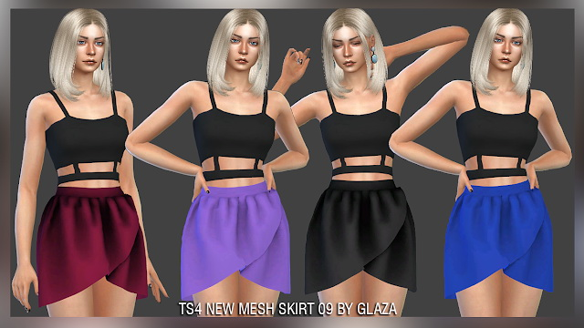 Skirt 09 at All by Glaza image 92 Sims 4 Updates