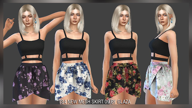 Skirt 09 at All by Glaza image 93 Sims 4 Updates