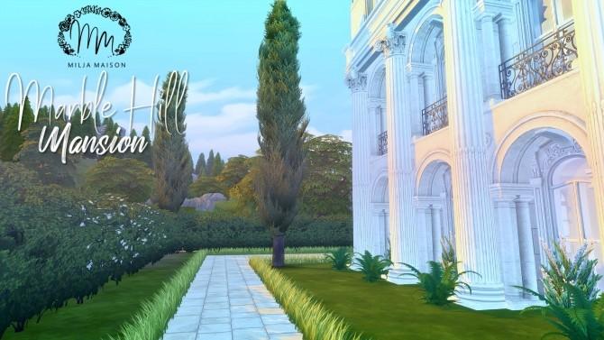MARBLE HILL MANSION at Milja Maison image 949 670x377 Sims 4 Updates