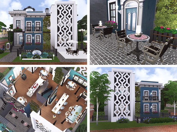 Gloria Restaurant by Rirann at TSR image 950 Sims 4 Updates