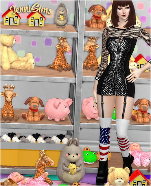 Sims 4 Kids Clutter 11 Items at Jenni Sims