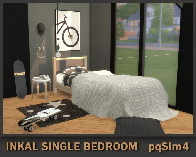 Inkal Single Bedroom at pqSims4 image 9710 670x536 Sims 4 Updates