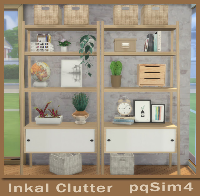 Sims 4 Inkal Clutter at pqSims4
