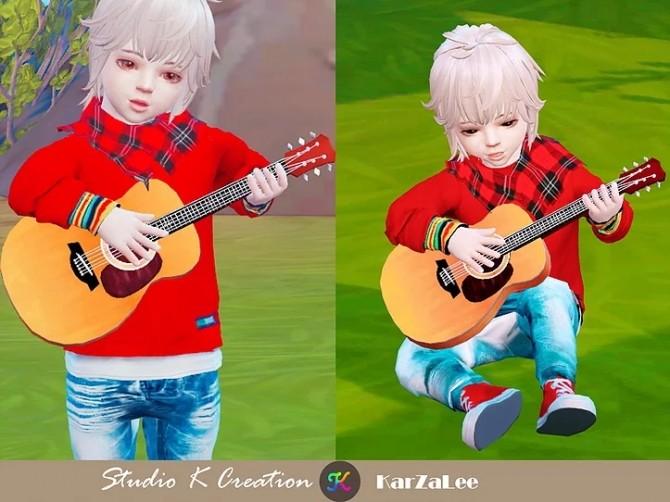 Basic handle guitar Toddler version at Studio K Creation image 975 670x502 Sims 4 Updates