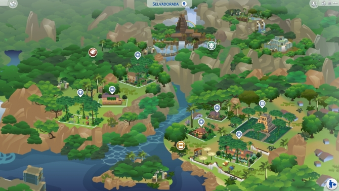 Sims 4 Worlds downloads » Sims 4 Updates