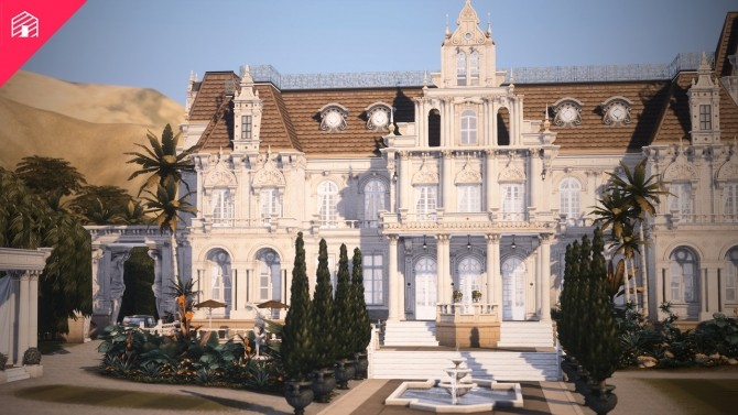 Royal Palm Mansion at Harrie image 996 670x377 Sims 4 Updates