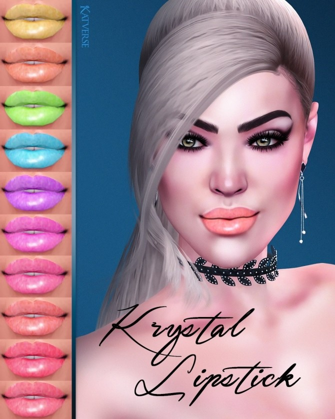 Krystal Lipstick at Katverse image 997 670x838 Sims 4 Updates