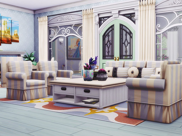 Sims 4 Pastel Beauty by MychQQQ at TSR