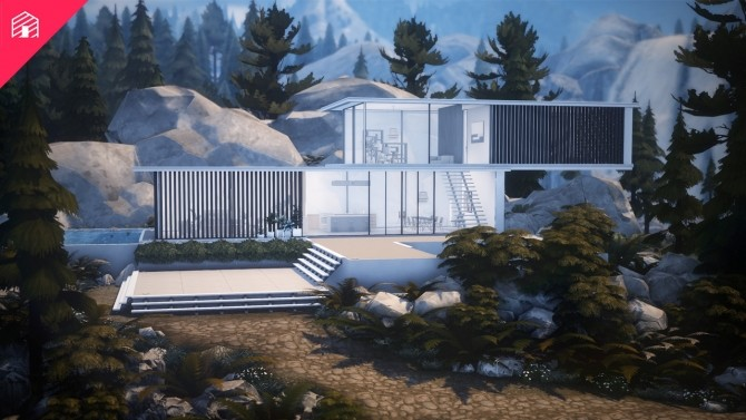 Pinewood house at Harrie image 10015 670x377 Sims 4 Updates
