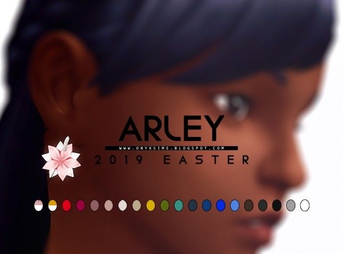 Easter 2019 Arley Set for girls at Onyx Sims image 10016 670x497 Sims 4 Updates