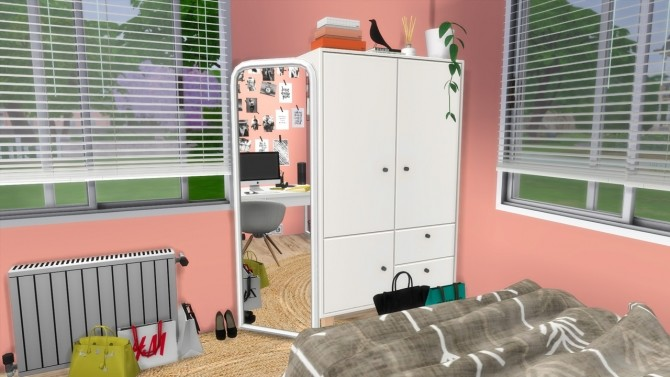 TEENAGE GIRL BEDROOM at MODELSIMS4 image 10018 670x377 Sims 4 Updates