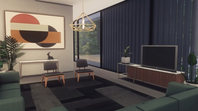 Pinewood house at Harrie image 10119 670x377 Sims 4 Updates