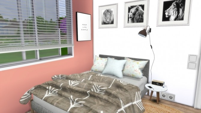 TEENAGE GIRL BEDROOM at MODELSIMS4 image 10122 670x377 Sims 4 Updates